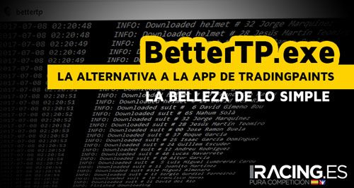 BetterTP.exe - La alternativa simple y eficaz a Trading Paints