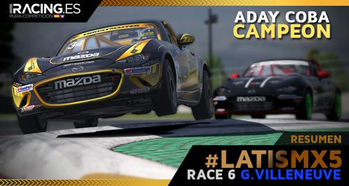 Race 6 #LATISMX5: Gilles Villeneuve